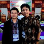 Rahmad Kurniawan ST, MIT dan Dr. RInaldi Munir, MT di International Conference on Electrical Engineering and Informatics