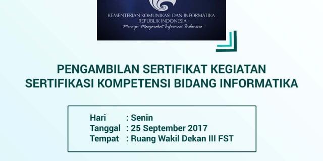 FST | Fakultas Sains dan Teknologi