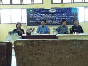 Suasana Musyawarah Wilayah ke-XI FKHMEI Wilayah III
