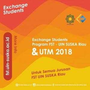 Exchange Students Program FST dan UTM 2018