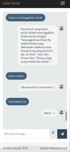 Gambar 2. Tampilan Azka Hasub Versi Mobile
